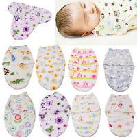 New Baby Swaddle Wrap Newborn Infant Bedding Swaddling Blanket Sleeping Bag 0-6M
