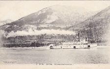 """KOOTENAY LAKE, British Columbia, 00-10s; C.P.R. Steamer S.S. """"KUSKANOOK"""""""