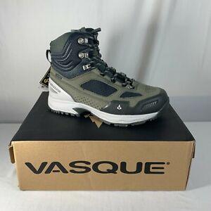 Vasque Breeze WT GTX Womens Hiking Boots 7867 Dark Shadow Green Size 8