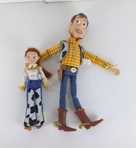 Disney Pixar Toy Story Woody And Jessie Dolls
