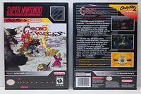 Chrono Trigger - NO GAME - Super Nintendo SNES Custom Case