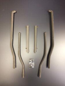 Floor runner / foot board strips grey for Lambretta series 3 by Casa Lambretta