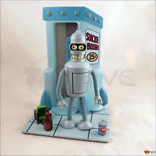 Futurama Bender Rodriguez & Suicide Booth display stand Moore missing accessory
