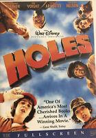 Holes (DVD, 2003, Full Screen) Shia LaBeouf