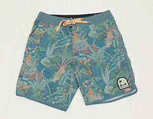 New Howler Brothers Bros Blue Unlined Swim Board Shorts Mens 32
