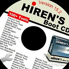 Hiren's Bootable CD 15.2 HBCD Repair Tools Recovery Virus Removal Boot Disk
