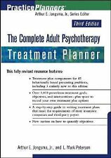 THE COMPLETE ADULT PSYCHOTHERAPY TREATMENT PLANNER (PRACTICEPLANNERS 3RD EDITION