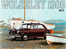 WOLSELEY 1300 MK.II BROCHURE. REF.26/12 (16810) 9/68-100m, PUBLICATION No.2586