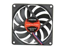 Evercool 80mm-X-10mm DC-5v Low-Speed Cooling Fan EC8010LL05EA