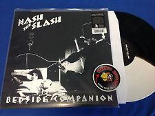 Nash The Slash Bedside Companion EP 2016 Black & White Vinyl Piranha Records