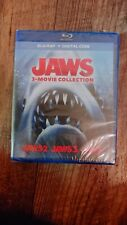 Jaws 3-Movie Collection Blu-Ray + Digital Same Day Ship Read 👇