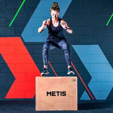 "METIS 3-in-1 Plyometric Jump Box | 30""x24""x20"" PLYO BOX Platform Gym Workout"