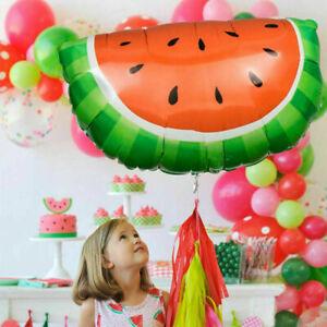 NEW Watermelon Fruit Aluminum Foil Balloon Birthday Party Festive Decor