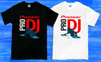 New PIONEER PRO DJ Music System Logo Men's T-Shirt Size S to 2XL