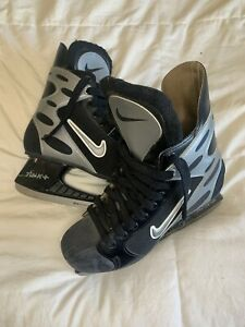 VINTAGE Nike MEN'S Tuuk + Hockey Ice Skates Size 11