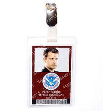Fringe Peter Bishop ID Badge Homeland Security Cosplay Prop Costume Halloween
