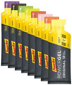Powerbar Powergel Original 8 Beutel 41g *8 Sorten / Mischbar*
