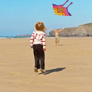 Stunt Kite Little butterfly Delta Outdoor Fun Sports Children Toys Gift Fun V1R3