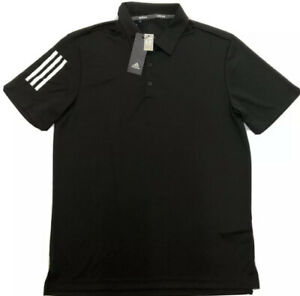 Adidas Men's 3-Stripe Basic Golf Polo Shirt Sz. M NEW FS5218