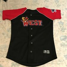 2005 FRONTIER LEAGUE Game Used All Star Jersey - Signed by OLMO ROSARIO - SZ44
