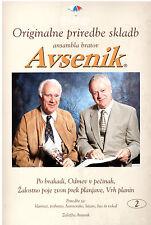 Oberkrainer Besetzung Noten : AVSENIK Originale Bearbeitungen 2 für Quintett