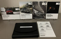 2015 BMW 3-Series Sedan Genuine OEM Owner's Manual Set w/Navigation & BMW Case