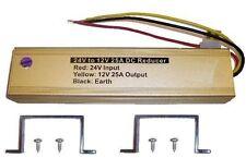 Voltage Converter 24V-12V (12-24), 25A 25 AMPS (300W)