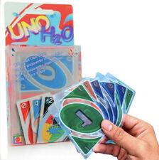Juego de Cartas Uno H2O con Estuche Cartas de Plástico Impermeables Piscina Agua