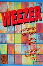 Weezer Fillmore Poster Archers Of Loaf Original Bill Graham F180 Eric Marshall