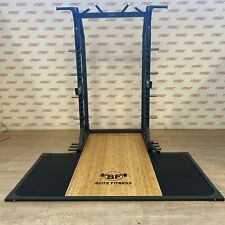 Blitz Fitness M Series Half Rack and Olympic Lifting Platform