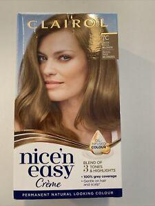Clairol Nice 'n Easy Dark Cool Blonde Permanent Hair Colour 7C