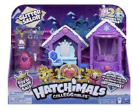 Hatchimals Colleggtibles, Glitter Salon Playset with 2 Exclusive New Great Gift!