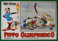 T76 Fotobusta Goofy Olympian Walt Disney Animation Zeichentrickfilm 1