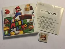 NINTENDO 2 DS 3 DS Gioco Super Mario 3D Land + in Scatola UK/EU PAL