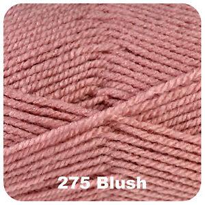 Cygnet Aran 100g Acrylic Knitting Yarn - Full Range