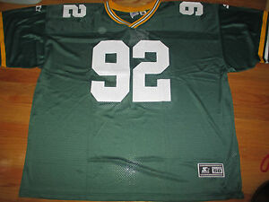 Vintage Starter REGGIE WHITE No. 92 GREEN BAY PACKERS (Size 58) Jersey w Tags