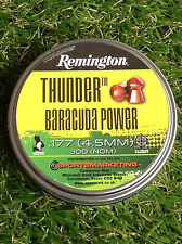 REMINGTON THUNDER BARACUDA Power .177 Air Gun Rifle Pellets (faite par h&n)