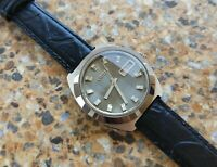 Vintage Citizen 28800 26 Jewels Automatic SSTI August 1971 7210 Grey Dial