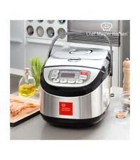 Robot da Cucina Chef Master Kitchen Inox Cook 1,8 L 900W Nero acciaio DALLA