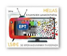 Griekenland / Greece - Postfris/MNH - 50 years of Greek Television 2016