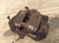 Mercedes brake caliper Front left passenger side Benz C Class W203 Genuine Used