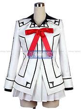 VAMPIRE KNIGHT Yuki Night Class White Uniform Cosplay Costume,Custom Any Size