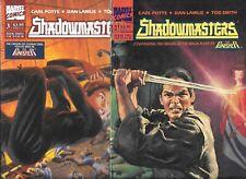 Shadowmasters #2 & #3    Lot of 2 (1989, Marvel Comics)