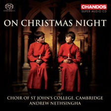 John Rutter : On Christmas Night CD (2011) ***NEW***