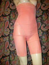 Coral Semi Sheer Super High Waist Long Leg Panties Panty Slimmer Girdle Xl