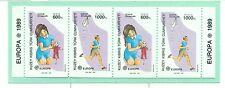 EUROPA CEPT - NORTHERN CYPRUS 1989 Children's Games booklet