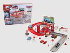 Lightning McQueen Kids Car Park Parking Garage Racing Track Boy Gift Toy