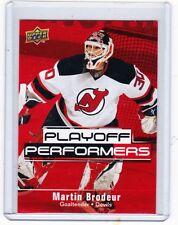 09-10 2009-10 UPPER DECK MARTIN BRODEUR PLAYOFF PERFORMERS #PP9 DEVILS