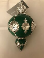Patricia Breen Versailles Reflector Green. Nwt