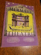 Vintage Mermaid Theatre London - Booklet History 1952